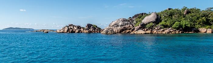 Indischer Ozean Praslin: Baie Chevalier Aride