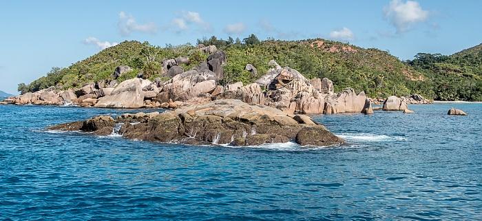 Indischer Ozean Praslin: Pointe Chevalier