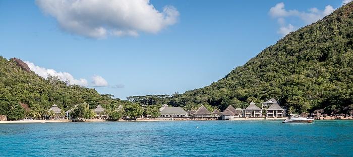 Indischer Ozean Praslin: Baie Pasquiere, Anse Petite Cour, Le Domaine de La Réserve