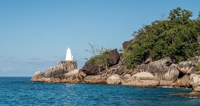 Indischer Ozean Praslin: Baie Pasquiere, Pointe Zanguilles