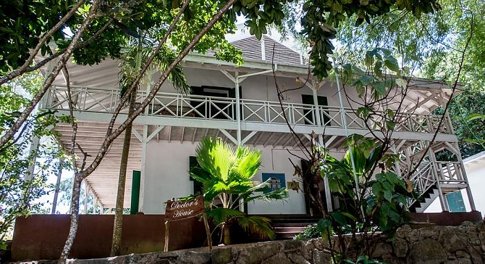 Curieuse Haus des Doktors der ehem. Leprastation