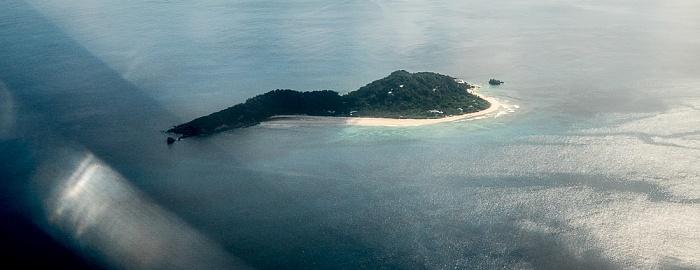 Indischer Ozean Insel Cousine Luftbild aerial photo