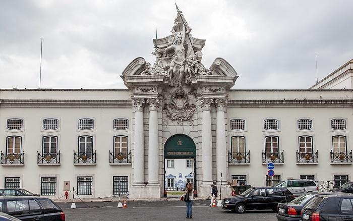 Lissabon Largo dos Caminhos de Ferro, Museu Militar de Lisboa