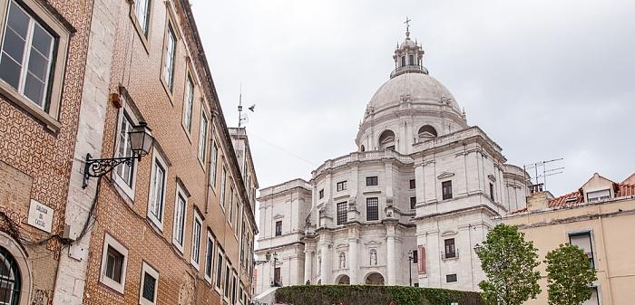 Lissabon Alfama: Campo de Santa Clara, Panteão Nacional (Igreja de Santa Engrácia)