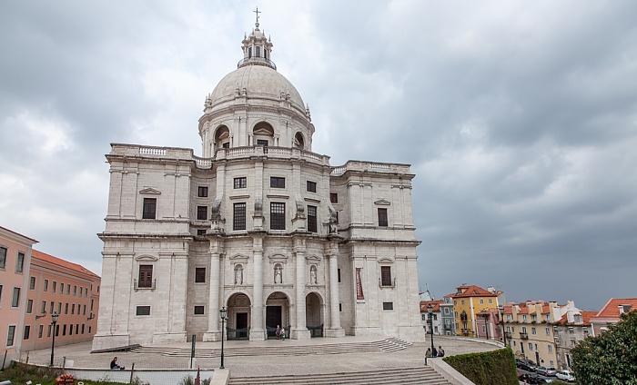Alfama: Campo de Santa Clara, Panteão Nacional (Igreja de Santa Engrácia) Lissabon