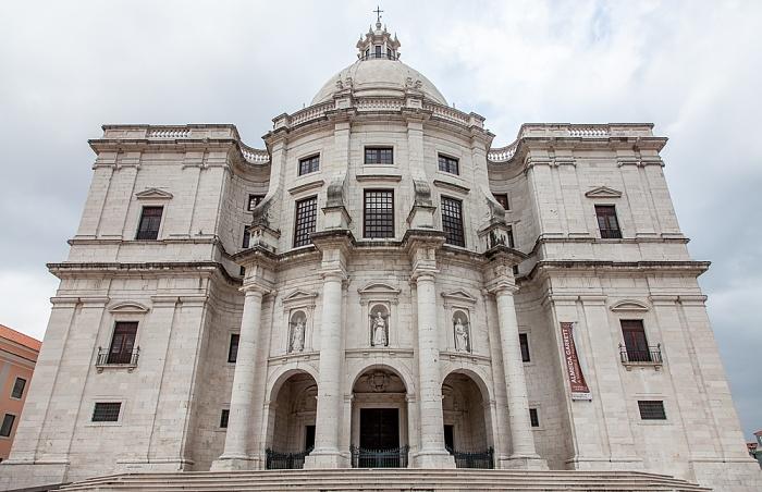 Alfama: Panteão Nacional (Igreja de Santa Engrácia) Lissabon