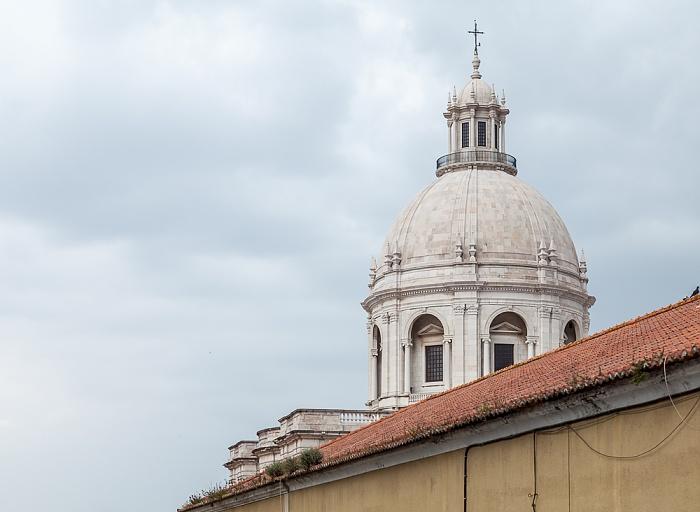 Alfama: Kuppel des Panteão Nacional (Igreja de Santa Engrácia) Lissabon