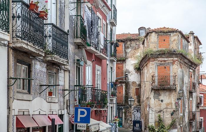 Lissabon Alfama: Calçada de São Vicente
