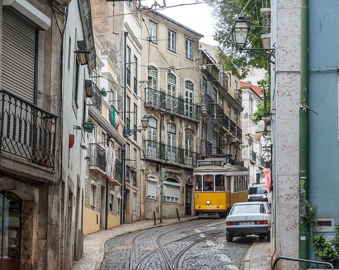 Alfama: Calçada de São Vicente Lissabon