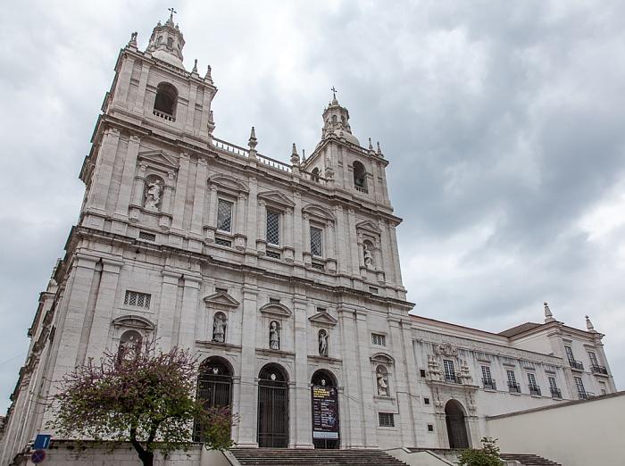 Alfama: Igreja de São Vicente de Fora Lissabon