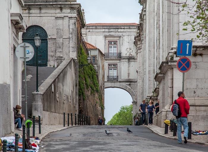 Alfama: Arco Grande de Cima Lissabon