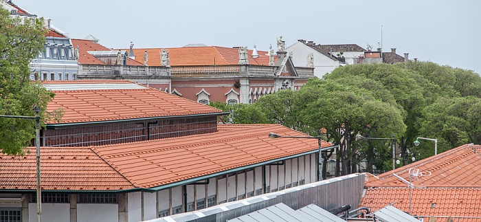 Alfama: Mercado de Santa Clara Lissabon