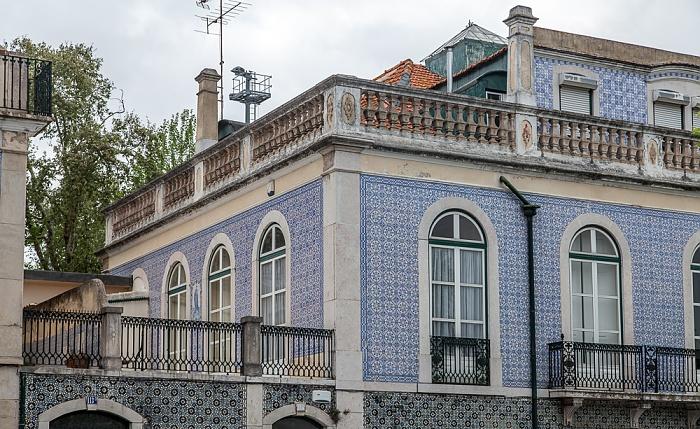 Alfama: Campo de Santa Clara Lissabon