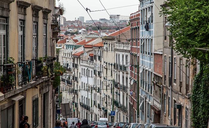 Alfama: Calçada de Santo André Lissabon