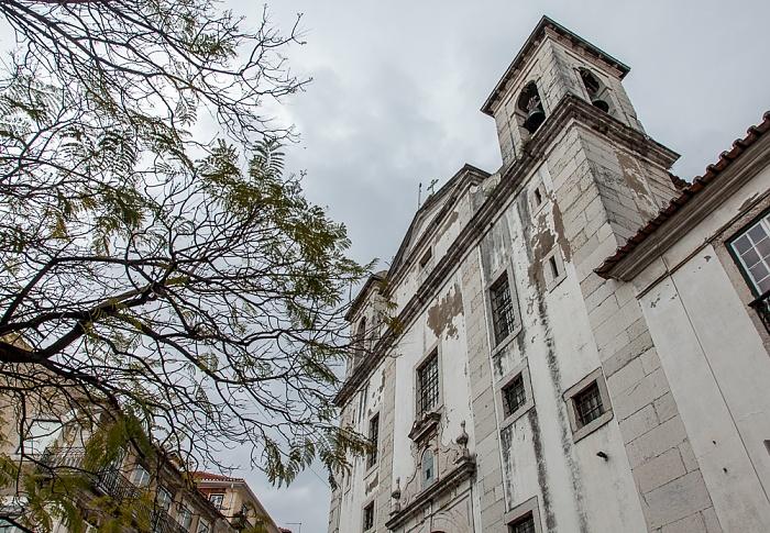 Alfama: Igreja Paroquial de São Cristóvão e São Lourenço Lissabon