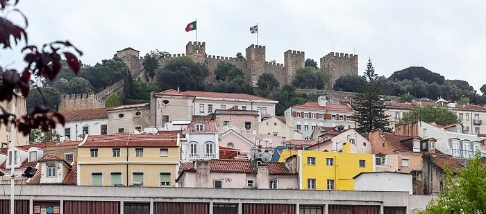 Alfama: Castelo de São Jorge Lissabon