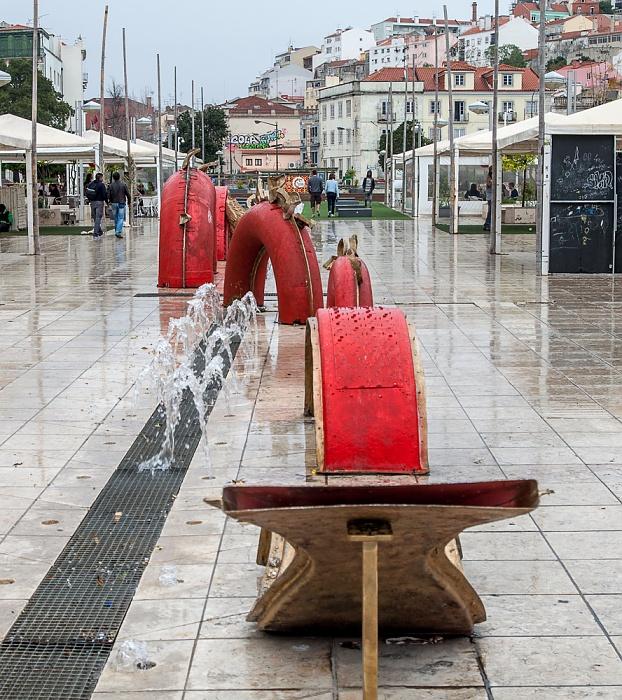 Baixa: Praça do Martim Moniz Lissabon