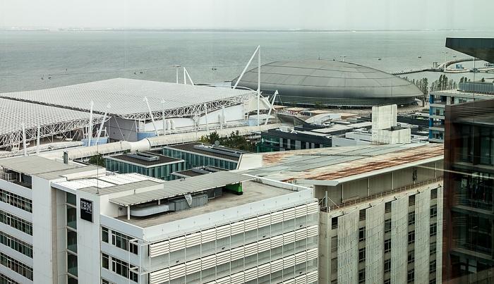 Blick aus dem VIP Executive Art's Hotel: Feira Internacional de Lisboa (Parque das Nações) Lissabon