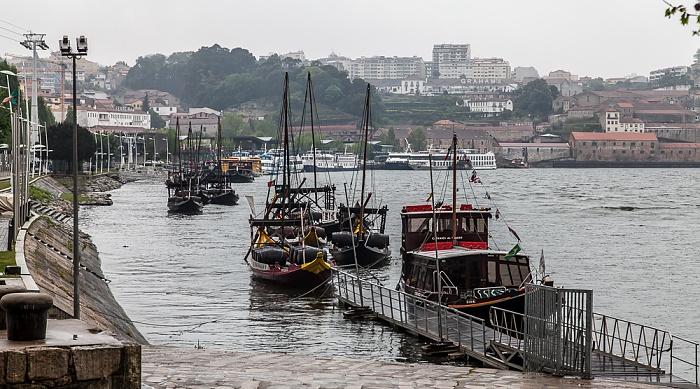 Cais dos Barcos Rabelos, Douro Porto 2015