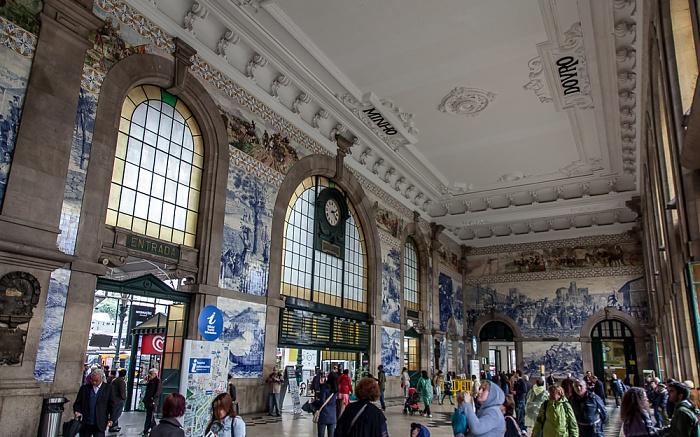 Porto Estação de São Bento: Eingangshalle