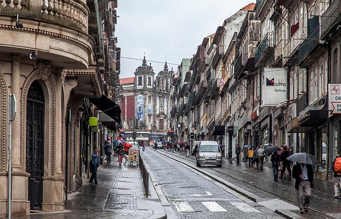 Porto Centro Histórico: Rua de 31 de Janeiro Igreja de Santo Ildefonso
