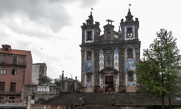 Porto Centro Histórico: Praça da Batalha, Igreja de Santo Ildefonso
