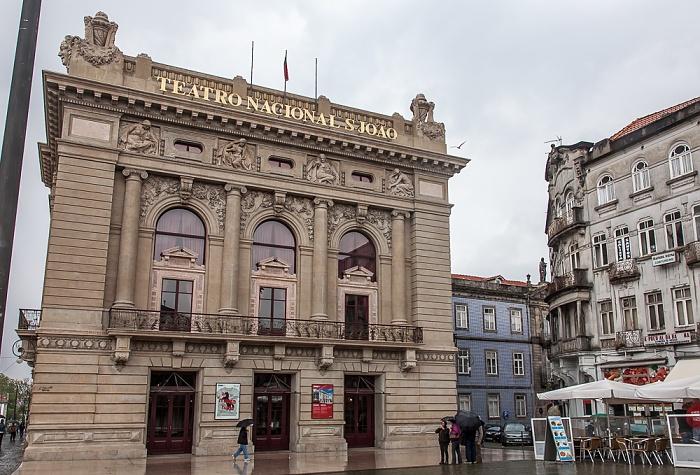 Porto Centro Histórico: Praça da Batalha - Teatro Nacional São João