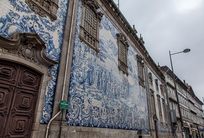 Porto Altstadt: Rua de Carlos Alberto - Igreja do Carmo