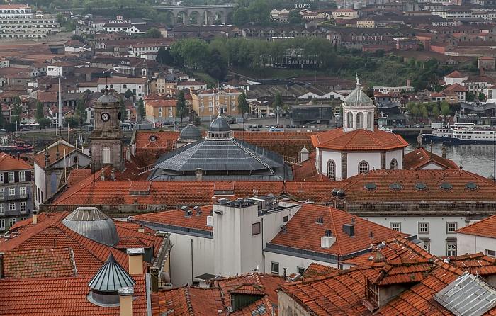 Blick vom Miradouro da Rua São Bento da Vitória: Centro Histórico Porto 2015