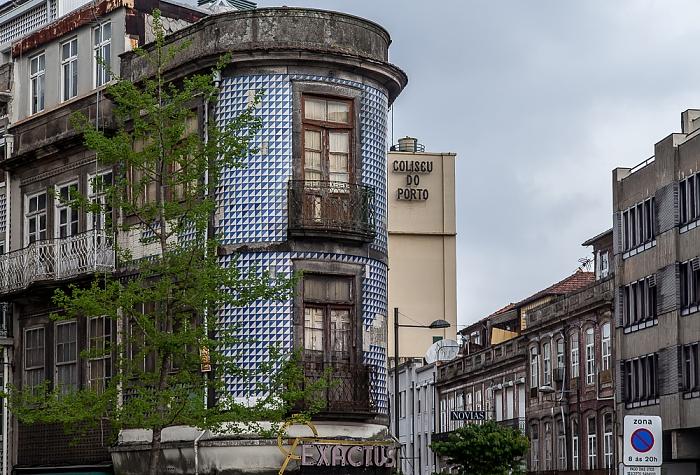 Porto Praça dos Poveiros Coliseu do Porto Rua de Passos Manuel