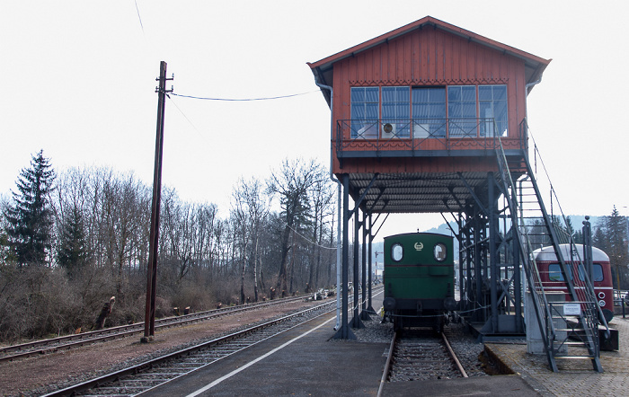 Blumberg Bahnhof Zollhaus (Sauschwänzlebahn/Wutachtalbahn): Stellwerk