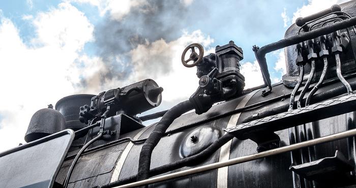 Stühlingen Bahnhof Weizen (Sauschwänzlebahn/Wutachtalbahn): Dampflokomotive 50 3501