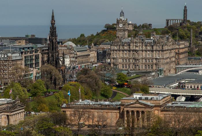 Blick von Edinburgh Castle Edinburgh