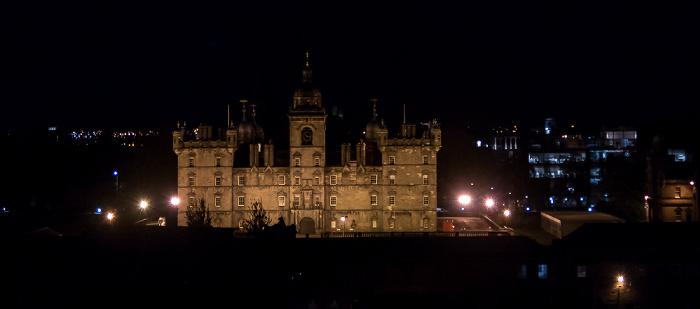 Blick von der Castle Esplanade  Edinburgh