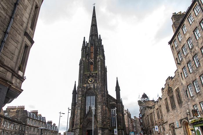 Old Town: Lawnmarket / Castlehill (Royal Mile), The Hub (ehem. Highland Tolbooth St John's Church) Edinburgh