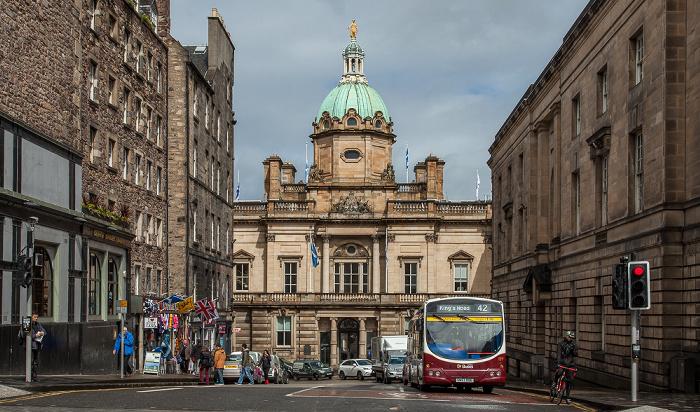 Edinburgh Old Town: Bank Street - Bank of Scotland Head Office