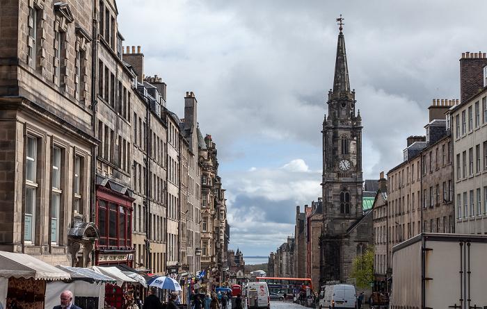 Old Town: High Street (Royal Mile) - Tron Kirk Edinburgh