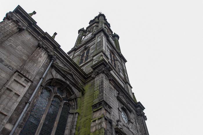 Edinburgh Old Town: High Street (Royal Mile) - Tron Kirk
