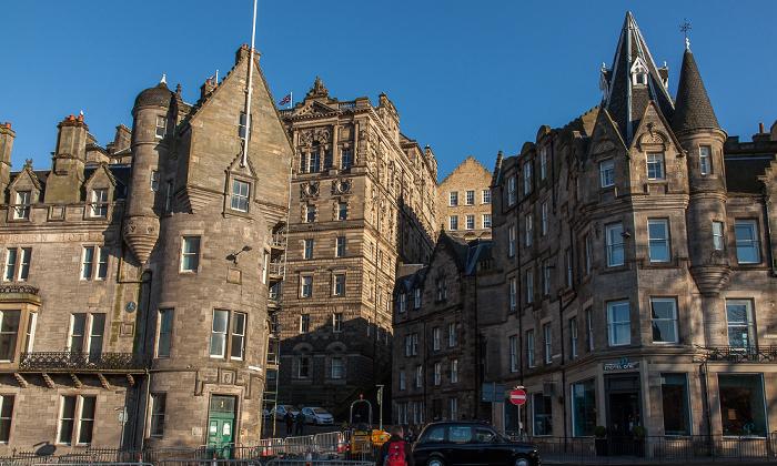 Edinburgh Old Town: Market Street