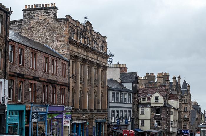 Edinburgh Old Town: High Street (Royal Mile)