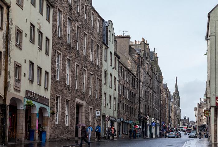 Edinburgh Old Town: High Street (Royal Mile) Tron Kirk