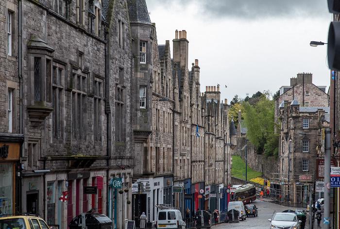 Old Town: St Mary's Street Edinburgh