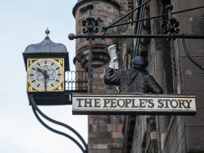 Edinburgh Old Town: Canongate (Royal Mile) - The People's Story