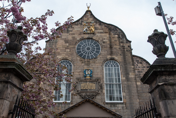 Edinburgh Old Town: Canongate (Royal Mile) - Kirk of the Canongate