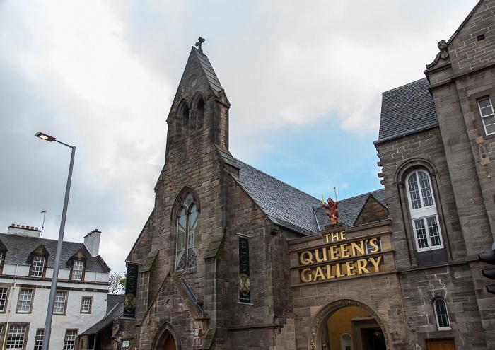 Edinburgh Old Town: Horse Wynd - Queen's Gallery (ehem. Holyrood Free Church)