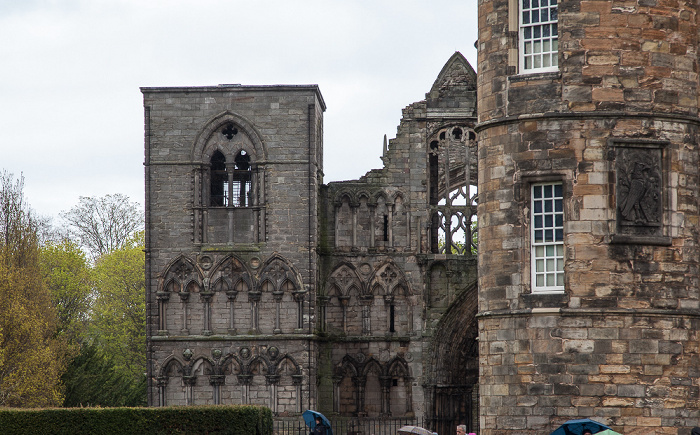 Edinburgh Old Town: Holyrood Abbey (Palace of Holyroodhouse)