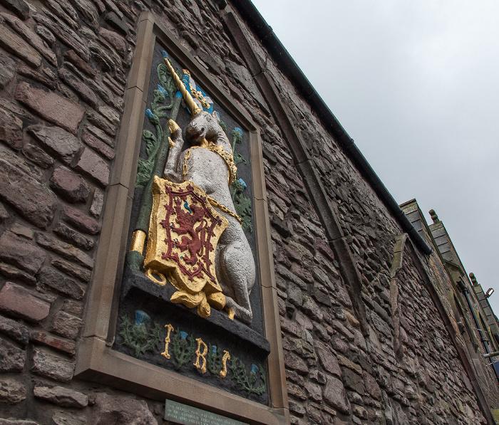 Edinburgh Old Town: Abbey Strand - Queen's Gallery (ehem. Holyrood Free Church)