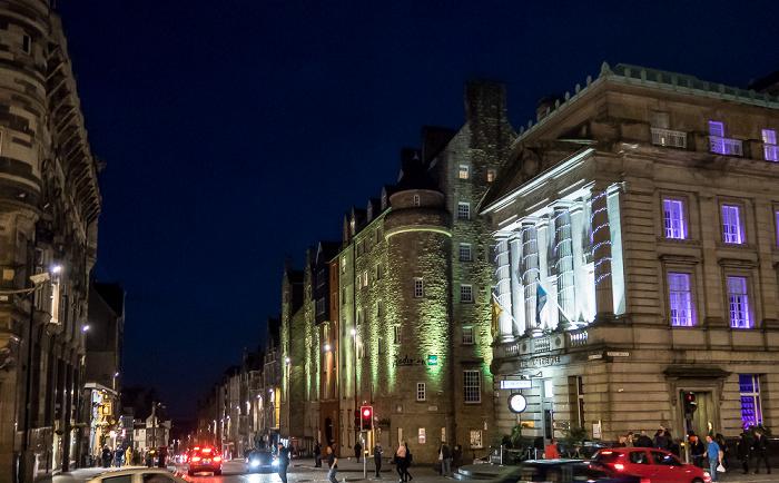 Edinburgh Old Town: High Street (Royal Mile) Radisson Blu Hotel The Inn On The Mile