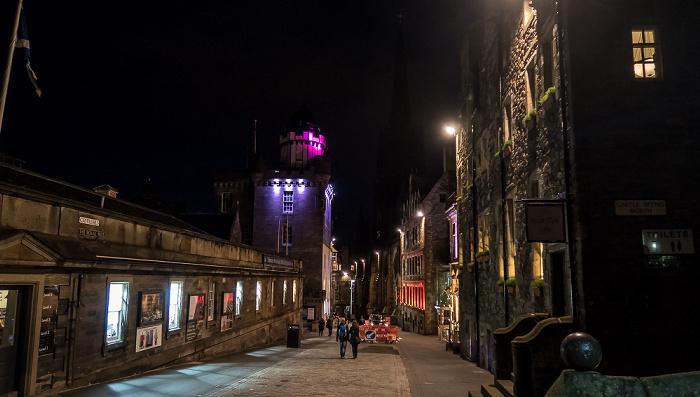 Edinburgh Old Town: Castlehill (Royal Mile)