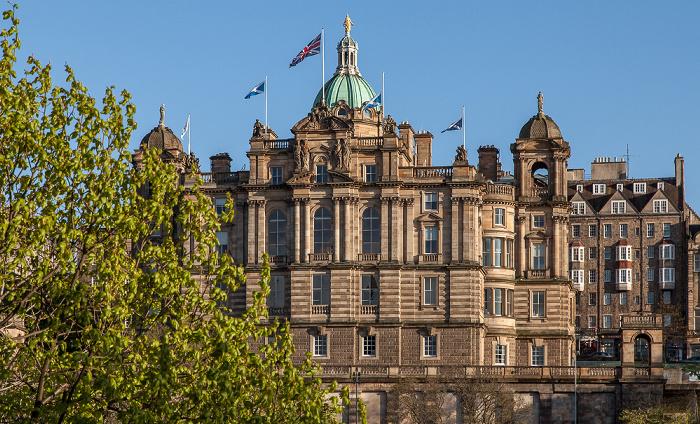 Old Town: Bank of Scotland Head Office Edinburgh